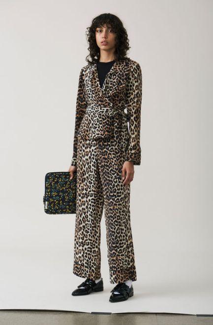 Ganni Silk Trousers £210 Top £380
