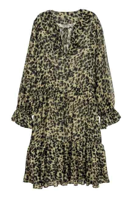HM Chiffon dress £34.99