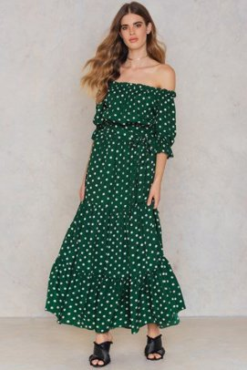 NA-KD Bardot Maxi Dress £33.95