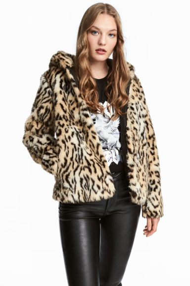 HM Faux Fur Coat £39.99