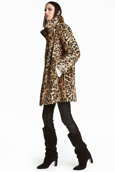 HM Faux Fur Coat £79.99