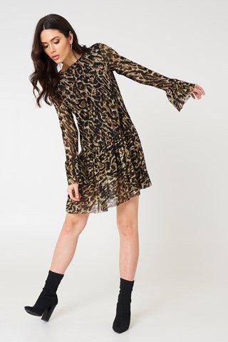 NA-KD mesh dress £29.95