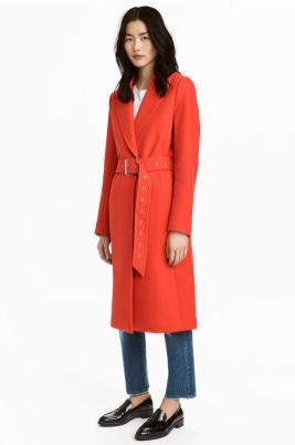 HM Wool Blend Coat £59.99