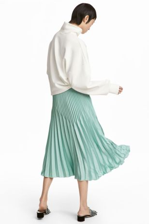 HM Pleated skirt £39.99