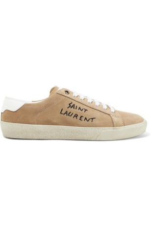Saint Laurent Suede Sneakers £425