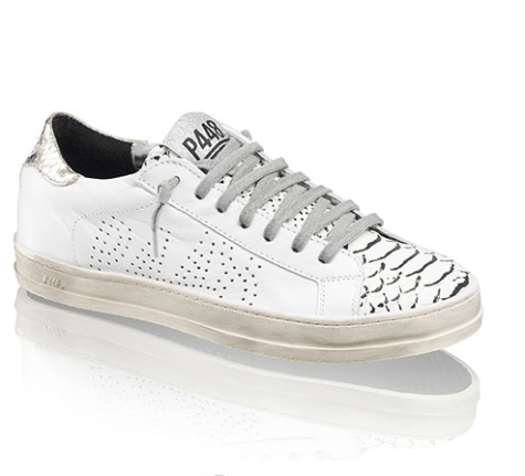 Russell & Bromley White Hair Calf Sneaker £275
