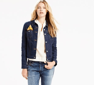 LEVIS STRAUSS TRUCKER JACKET £85