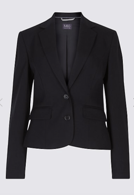 M&S black blazer £39.50