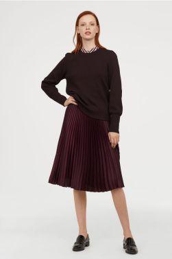 H&M Pleated skirt £29.99