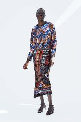 Zara sequin Jumper £49.99