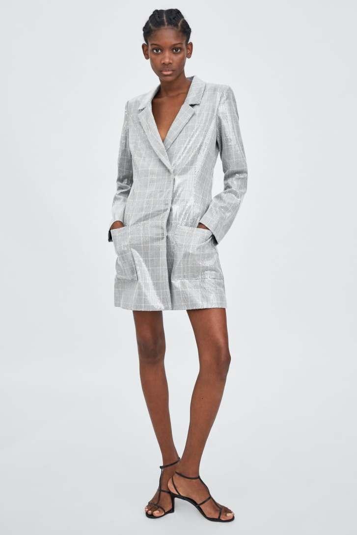 Zara Sequin Blazer Dress £69.99