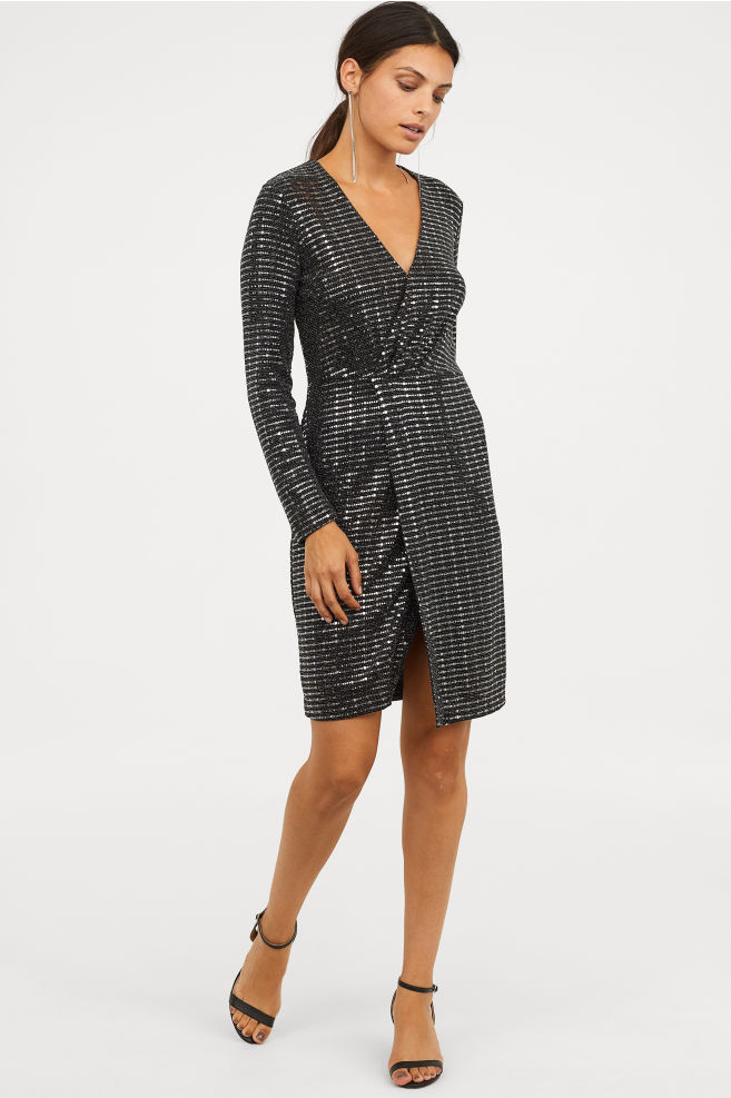 HM Sequinned dress £49.99