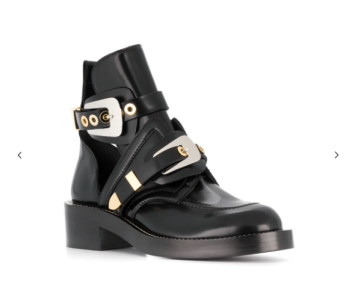 Balenciaga Leather Ankle Boots £1075
