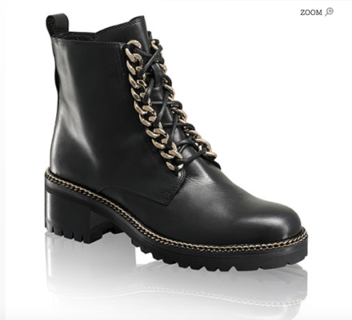 Russell & Bromley Chain Link Lace Up Boot £375