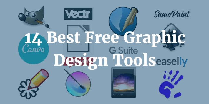 Top 14 Free Graphic Design Tools For Creating Amazing