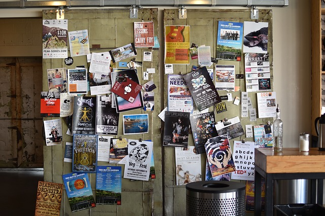 coffee shop - Most Effective Locations To Place Your Posters