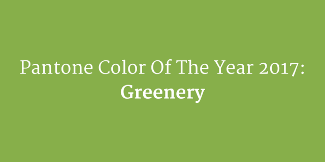 greenery - how to use pantones color of the year in your designs - chilliprinting