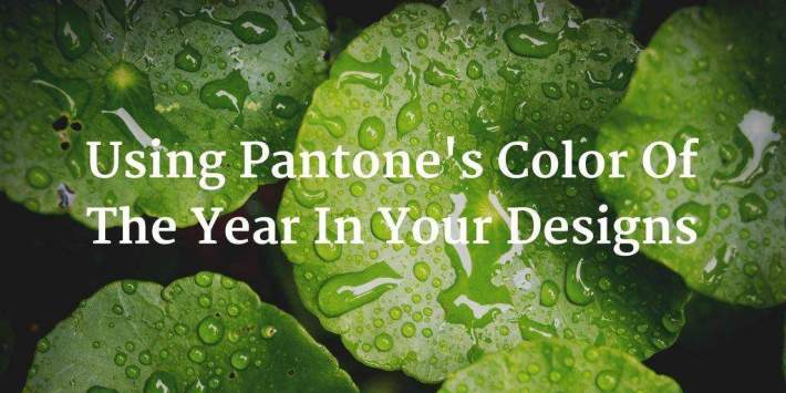 What The Pantone Color Of The Year Means For Your Designs And How To Use It