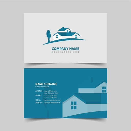 real estate businses cards