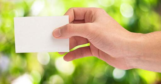Texture and quality of the paper should fit to your marketing strategy