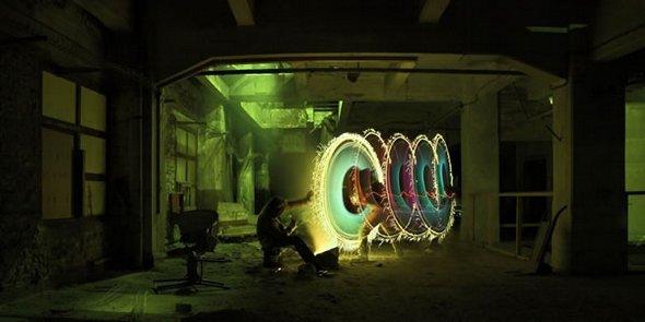 Amazing Light Drawings and Graffiti