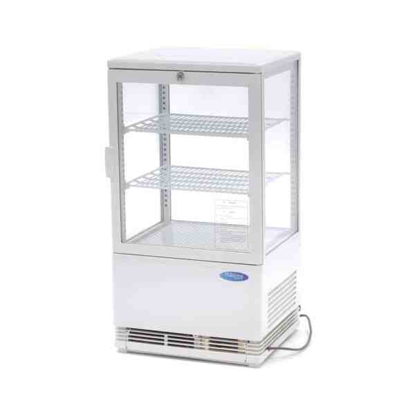 maxima-refrigerated-display-58l-white