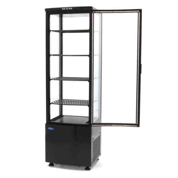 maxima-refrigerated-display-case-235l-black (3)