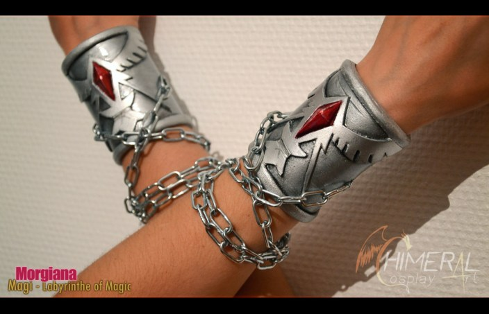 Morgiana bracelets - Magi / Comission Cosplay by Chimeral CosplayArt