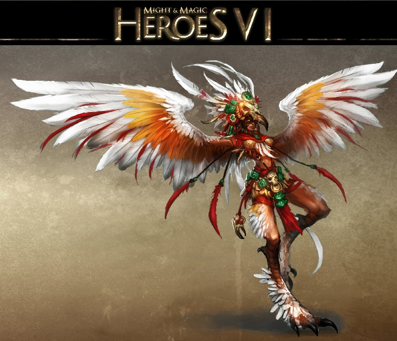 Harpy from Might and Magic Heroes VI