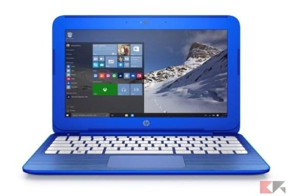 HP Stream 13-c100nl Notebook, 13_, Intel Celeron N3050, RAM 2 GB, eMMC 32 GB, In