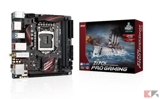 Asus Z170I Pro Gaming Scheda Madre, Nero_ Amazon.it_ Informatica