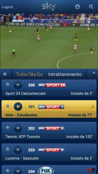 Sky Go - Android