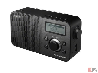 Sony XDR-S60DBP Radio digitale DAB+_DAB_FM, Nero_ Amazon.it_ Elettronica