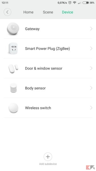 xiaomi smart security kit