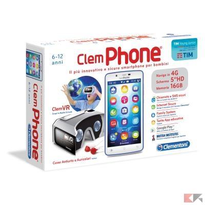 Smartphone per bambini: ClemPhone