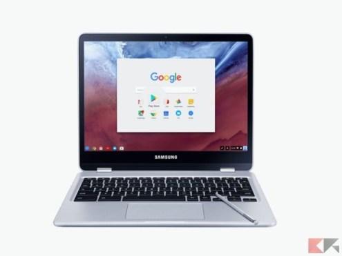 migliori chromebook - Samsung Chromebook Pro