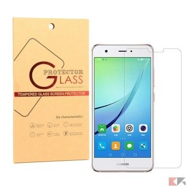 pellicole in vetro temperato Huawei Honor 8 Pro