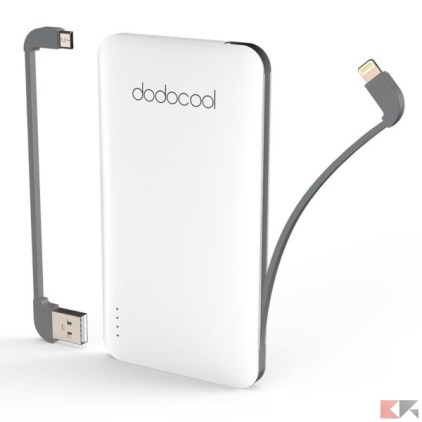 dodocool power bank iphone