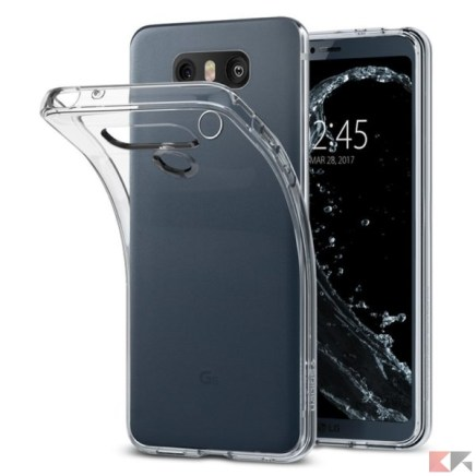 cover LG G6 - Spigen Clear Case