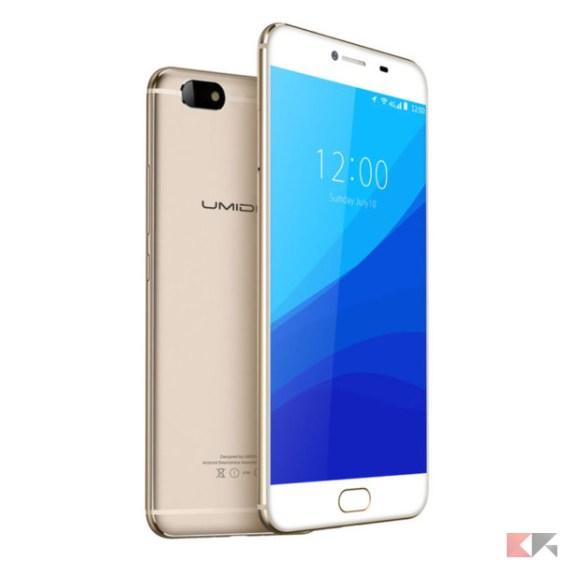 umidigi c note - migliori smartphone cinesi con banda 20