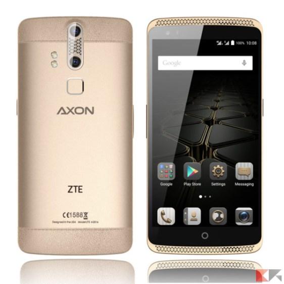 zte-axon elite - migliori smartphone cinesi con banda 20