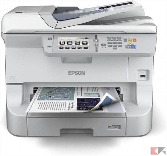 Stampante multifunzione (All in One) - EPSON Workforce PRO WF-8510DWF