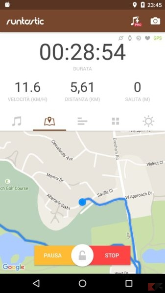 Runtastic Mountain Bike GPS (Android/iOS)