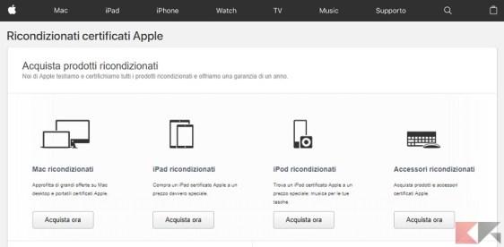 Ricondizionato Certificato Apple
