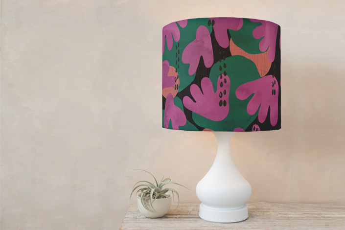 Just Like Living in Paradise lampshades