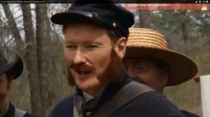 conan o'brien civil war reenactors