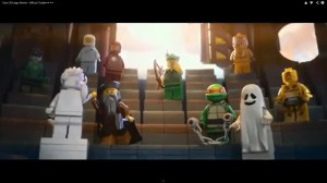 3D Lego Movie Trailer