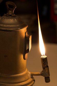 lampada acetilene