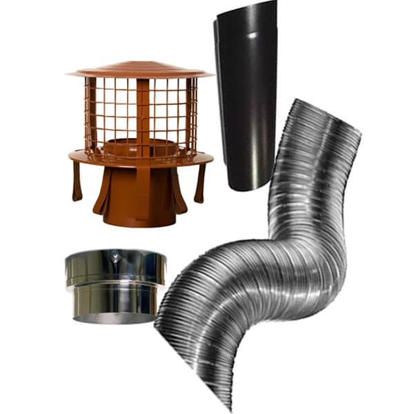Chimney Liner Flue Kit from Chimney Cowl Products