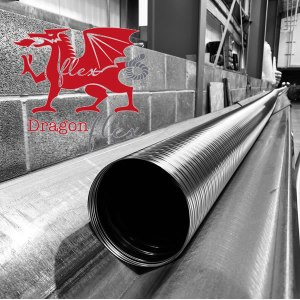 Dragon Flex Chimney Liner from Chimney Cowl Products